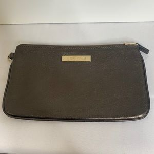 Tiffany & Co. Bronze Leather Pouch/Clutch